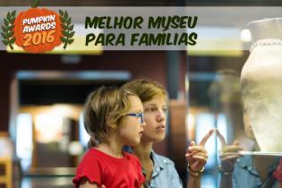 Pumpkin Awards 2016 - Melhor Museu Famílias