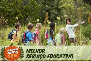 Pumpkin Awards 2016 - Melhor Programa Servico Educativo