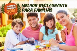 Pumpkin Awards 2016 - Melhor Restaurante Famílias