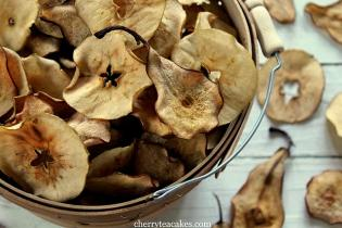 Receita aperitivos macã pera