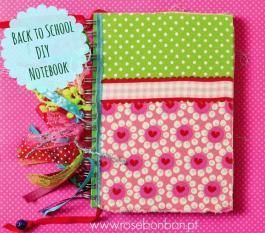 Regresso às aulas: Aprenda fazer caderno forrado