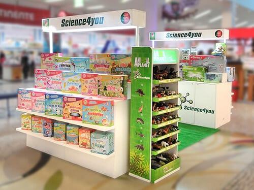 As melhores lojas de brinquedos: Science4you