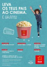 Sessão gratuita cinema infantil  À Procura Dory