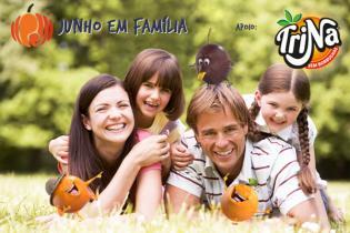 Sol diversão famílias durante mês Junho