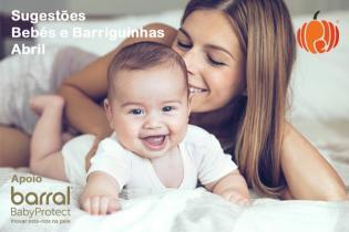Sugestões barriguinhas bebés mês Abril