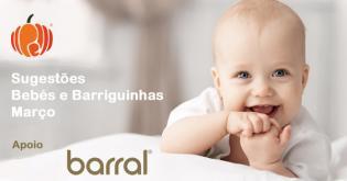Sugestões divertidas famílias barriguinhas bebés mês Marco