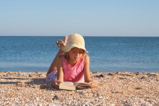 Sugestões livros infantis ler praia