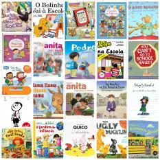 Sugestões livros preparar regresso às aulas pequenotes