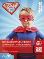 Super sessões cinema infantil Braga Parque Nova programação Verão