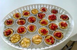 Tarteletes fruta época