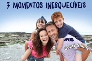 Vamos fazer memórias - 7 ideias momentos inesquecíveis família