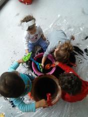 Vamos Jardinar, Sujar Brincar Inverno Actividade Indoor
