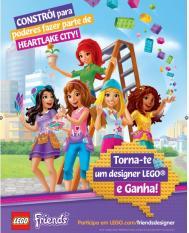Vamos levar português à Dinamarca: LEGO passatempo