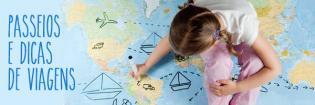 Viajar criancas - dicas programas fins semana compridos