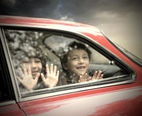 Viajar seguranca família carrinha escola