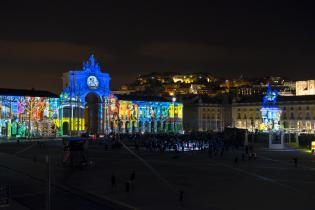 Video Mapping regressa Terreiro Paço