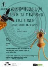 Workshop Construção Marionetas Esponja Crianças