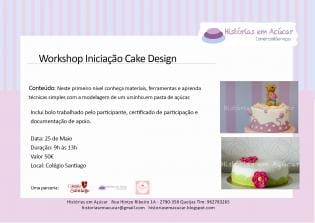 Workshop Iniciação Cake Design