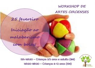 Workshop Malabarismo