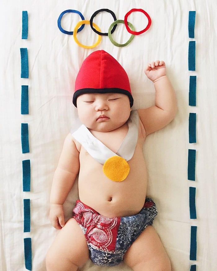 Campeão Olímpico da Soneca