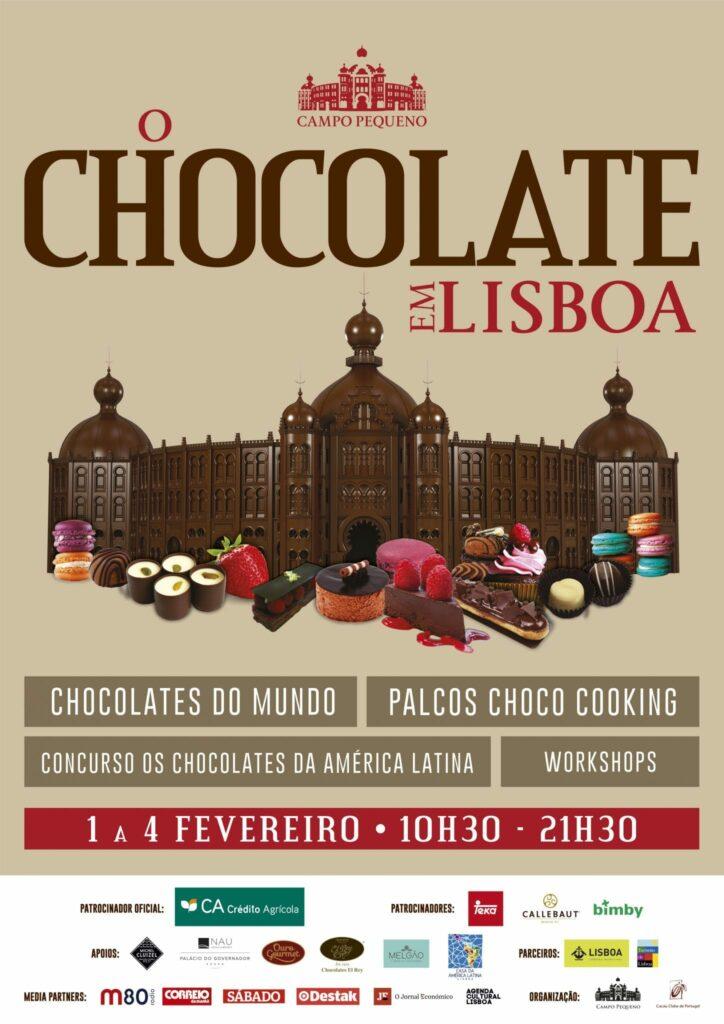 Chocolate em Lisboa - Cartaz
