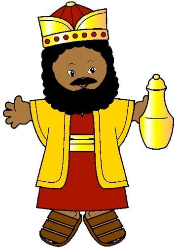 Conhecer os 3 Reis Magos - Baltasar