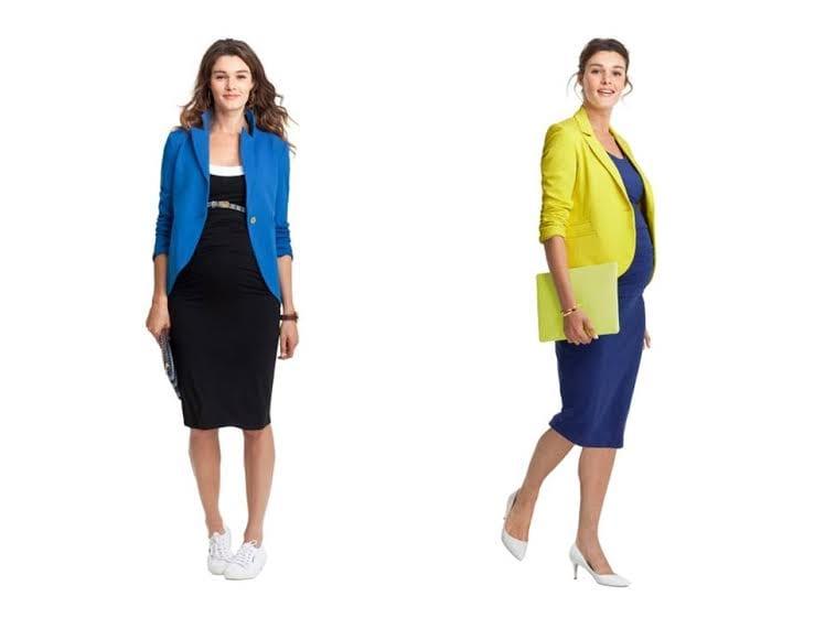 roupa para grávida - blazer