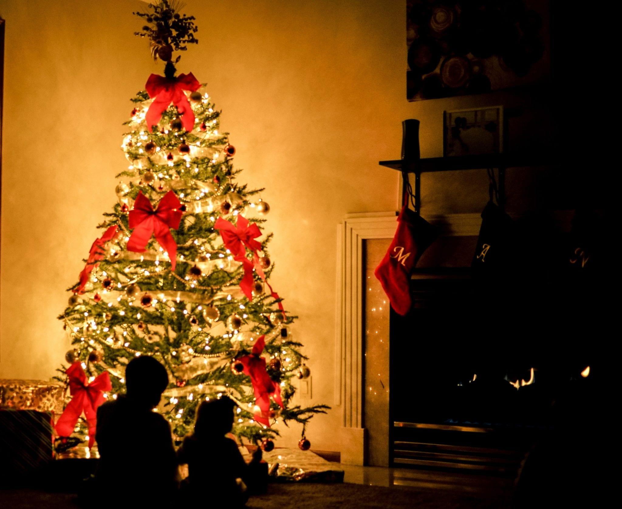 desfazer árvore de natal