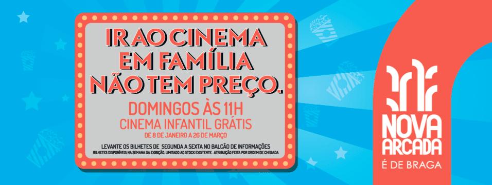 Nova Arcada Oferece Sessões De Cinema Infantil Gratuitas!