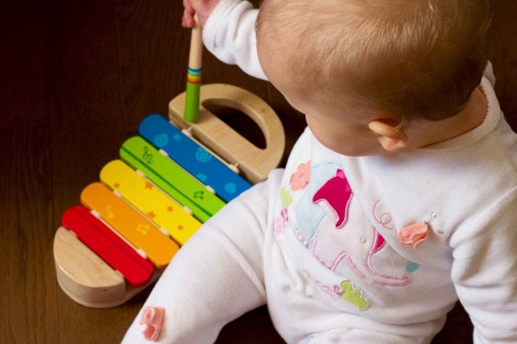 quarto de bebé - brincar