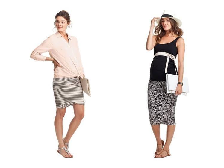 roupa de grávida - saias