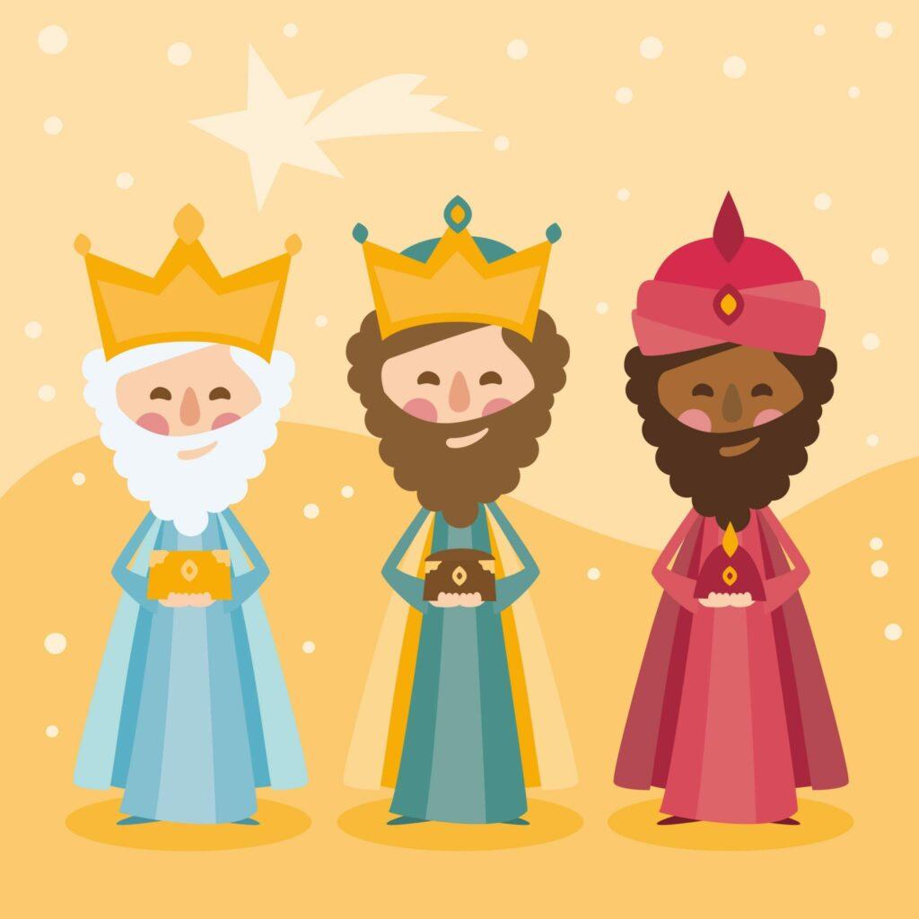 Celebre o Dia dos Reis