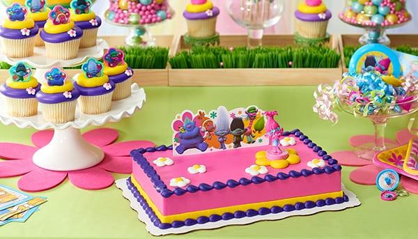 Festa de Aniversário com cor, é uma Festa dos Trolls!