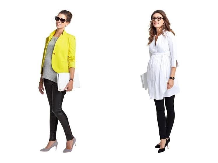 roupa para grávida - leggins