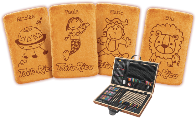 Concurso de desenho TostaRica - grande premio