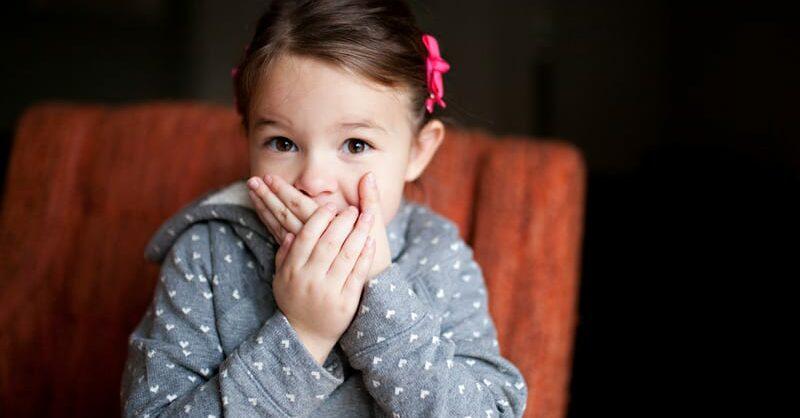 mau hálito nas crianças