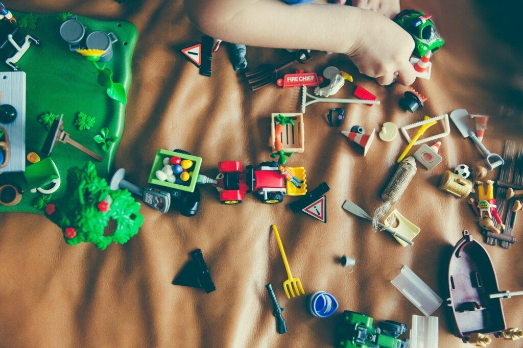 20 coisas dos seus filhos para destralhar