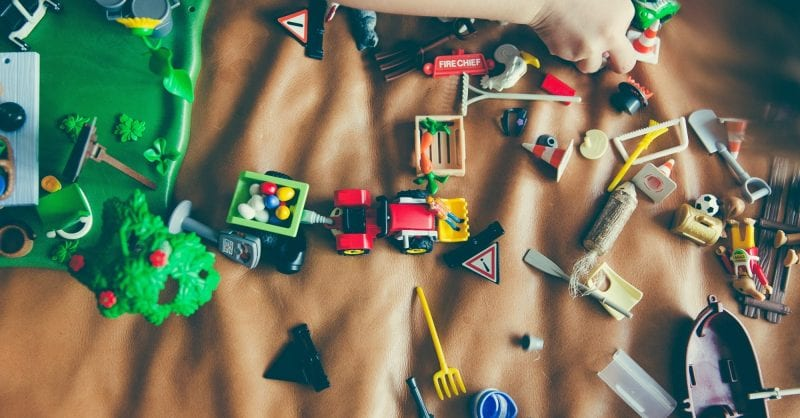 20 coisas dos seus filhos para destralhar: vamos a isso?