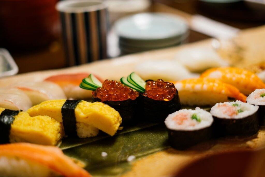 sushi na gravidez