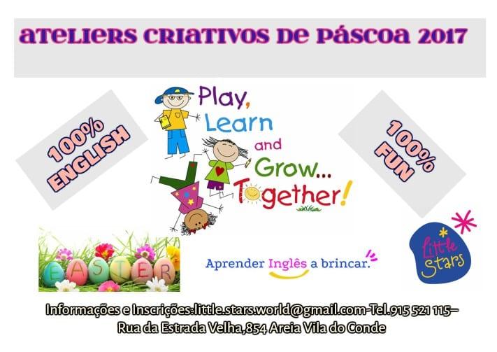 Ateliers Criativos Páscoa 2017