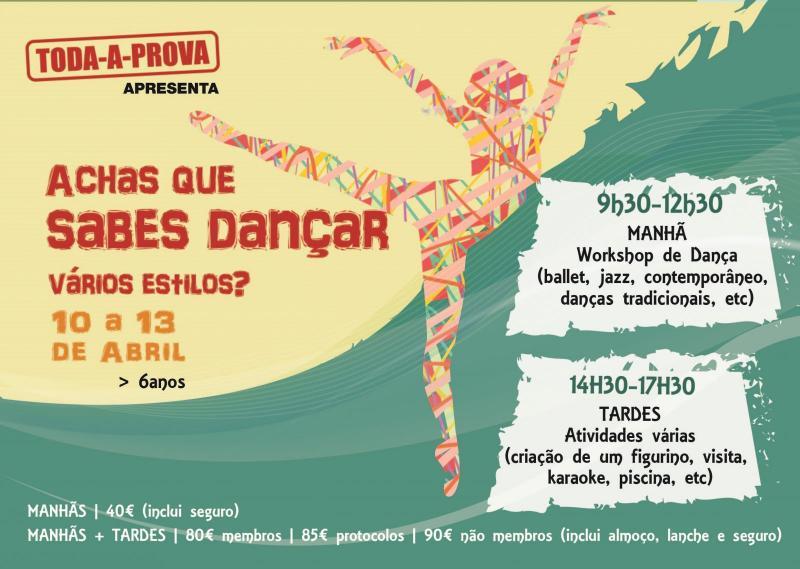 Achas que sabes dançar vários estilos?