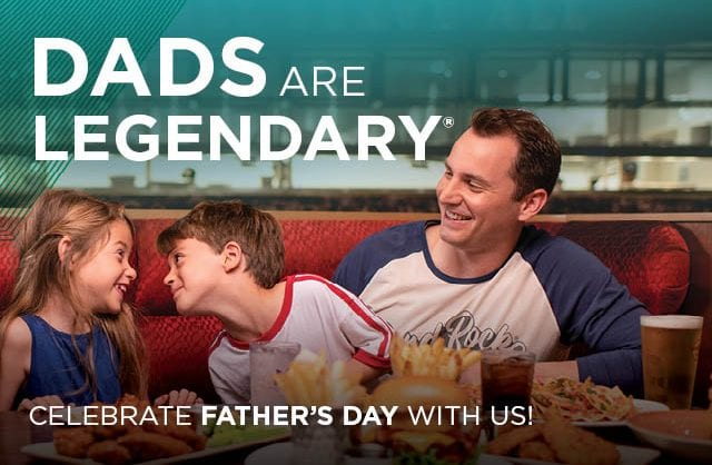 Dia do Pai no Hard Rock Cafe Lisboa: Dads Are Legendary