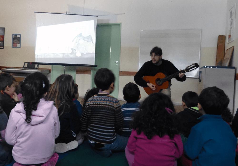 A Música dos Livros Atelier para escolas Conservatório Sintra