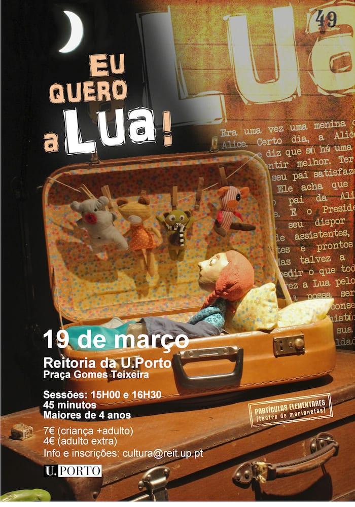 Eu Quero a Lua | Espetáculo de Marionetas