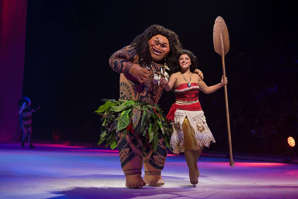 Disney On Ice - Maui e Vaiana