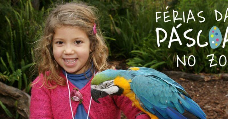 Férias da Páscoa Online do Jardim Zoológico