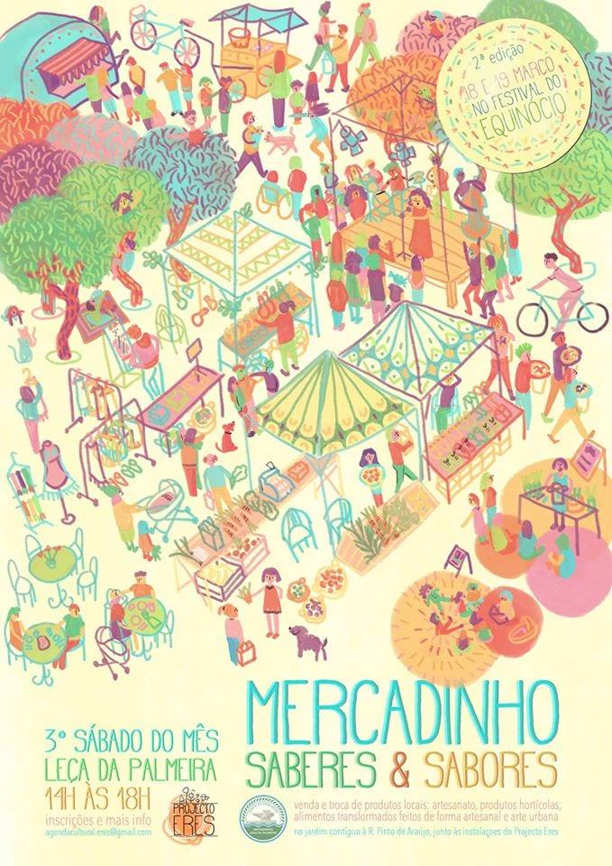 MErcadinho e Festival do Equinócio Leça da Palmeira - Porto