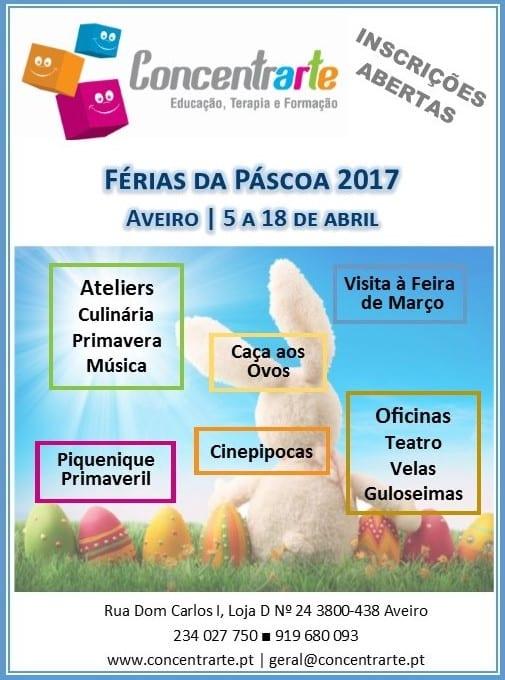 Férias da Páscoa 2017   Concentrarte   Aveiro