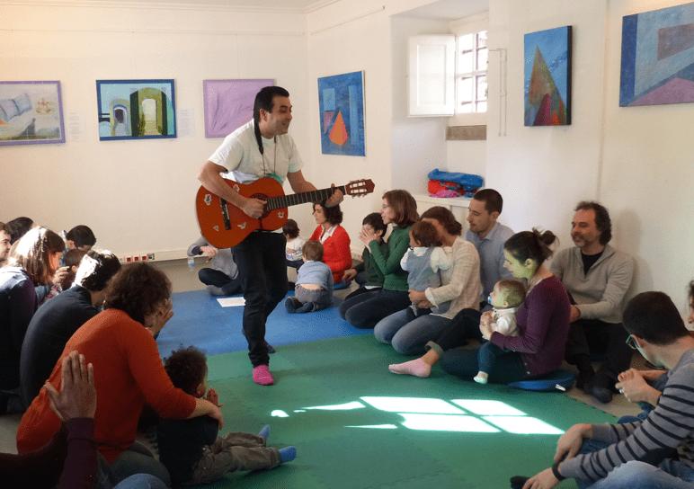 Música para Bebés nas Bibliotecas de Lisboa