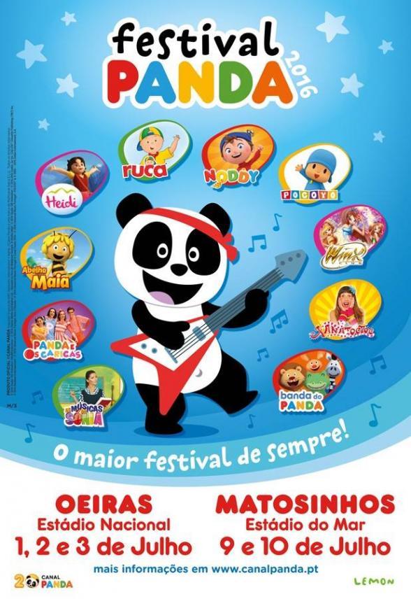 Passatempo Festival Panda